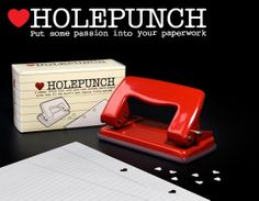 Heart Hole Punch by Suck UK by OHMYBUY on Etsy, £9.99