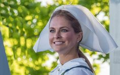Back to school with Princess Madeleine of Sweden