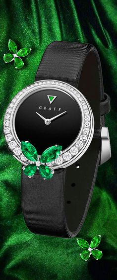 Graff diamonds classic butterfly watch ✿⊱╮