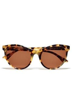 Oh la la. Tortoise Cat Eye Sunglasses by Illvestra