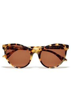 Oh la la. Tortoise Cat Eye Sunglasses by Illvestra