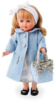 Petitcollin 284024 - Bambola vestita da shopping, di Marie-Françoise, 40 cm: Amazon.it: Giochi e giocattoli