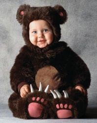 Tom Arma Brown Bear Toddler Halloween Costume  - Mordu enough?