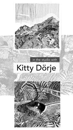 Interview with Cape Town artist Kitty Dörje about her ink drawings and printmaking and a glimpse into her studio. Garden Drawing, Life Drawing, Butterfly Project, South African Artists, Pottery Studio, Art Fair, Artist Art, Online Art Gallery, Printmaking