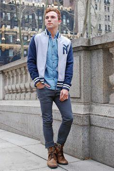 NY Letter Jacket... from Blue Marlin Clothing.