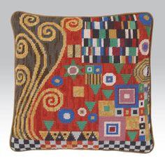 Klimt: Scarlet by Candace Bahouth, Ehrman Wools, http://www.ehrmantapestry.com/Products/Klimt--Scarlet__SKL.aspx#.UUOdmFeZFLo