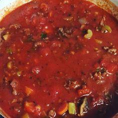 Reason's To Smile!!: Sausage Mushroom Spaghetti Sauce
