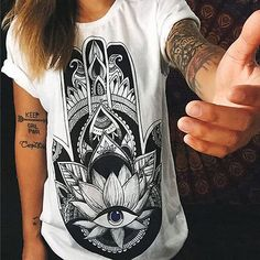 Women Loose Short Sleeve Cotton Casual Blouse Shirt Tops Fashion Summer T shirt