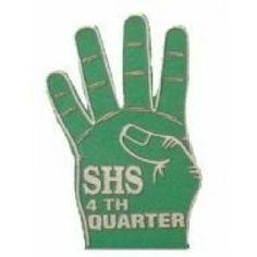 Open 4-Finger Foam Hand Mitt