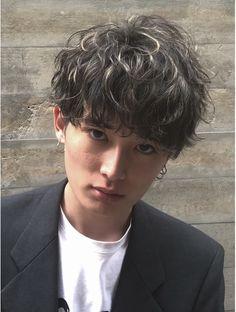 Older Mens Hairstyles, Sleep Hairstyles, Tomboy Hairstyles, Asian Men Hairstyle, Japanese Hairstyle, Permed Hairstyles, Haircuts For Men, Perm Hair Men, Men Perm