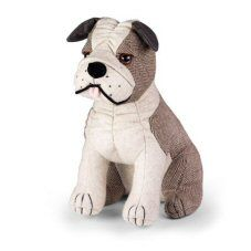 Thurston Bulldog Doorstop By Dora Designs http://www.abentleycushions.co.uk/detail.asp?pID=7853