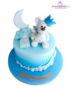 Christening cakes Diy Fall Crafts diy fall crafts to make and sell Pretty Cakes, Cute Cakes, Beautiful Cakes, Gateau Baby Shower, Baby Shower Cakes, Fondant Cakes, Cupcake Cakes, Toddler Birthday Cakes, Christening Cake Boy