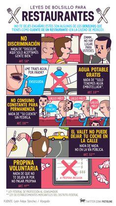 #derechos del #cliente en un restaurante (en México)
