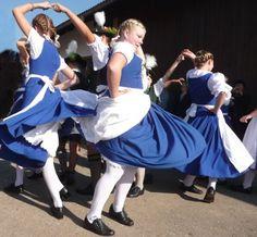 Kirta, a harvest festival, dirndl Folk Costume, Costumes, Harvest, Girls, Ballet Skirt, Dance, How To Wear, Fashion, Oktoberfest