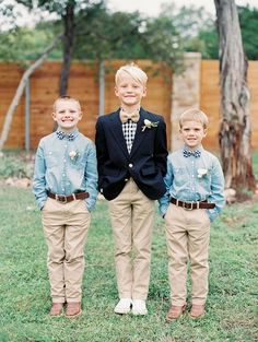 5 of the Sweetest Vintage Ring Bearer Looks