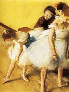 The Dancing Examination by @edgar_degas #impressionism