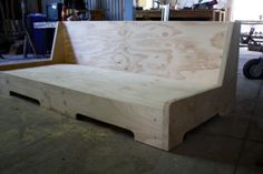plywood couch frame