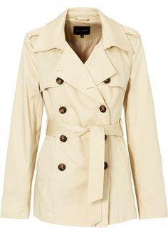 Casaco trench coat bege encomendar agora na loja on-line bonprix.de  R$ 249,00 a partir de Trechcoat clássico, para sair arrasando por aí. Com golas ...