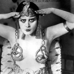"""They said that back to 3000 BC in Egypt, has been collected the first record of lingerie. It's not possible to trace the exact roots of this vicious piece of garment!... To inspire, Theda Bara as Cleopatra! ❤️ Good night ✨  #thedabara #inspiration #cisô #cisôatelier #nightynight #night #cleipatra #history #lingerie #intimates #egypt #classic #femmefatale #muse #icon #iconic #movie #1917 #vicious #serpent #cisoatelier"" Photo taken by @cisoatelier on Instagram, pinned via the InstaPin iOS…"