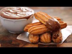 Homemade Baked Churros & Hot Chocolate