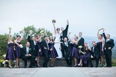 The Wedding Party!!  Log Cabin, Holyoke MA