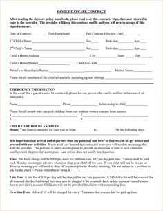 Preschool Registration Form Template  Teaching Ideas