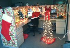 Christmas Office Decoration Themes | office decorating ideas for christmas - Trendy Christmas Decoration ...