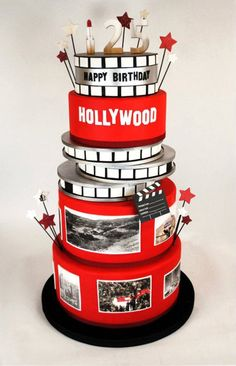 Cake Decorating West Hollywood : 1000+ ideas about Hollywood Cake on Pinterest Star Cakes ...