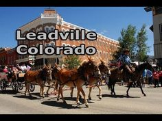 Leadville, the highest incorporated city in the U., at feet, is surrounded by more than a million acres of public forests. Beautiful Places To Visit, Wonderful Places, Leadville Colorado, Cloud City, Twin Lakes, Colorado Homes, Local Attractions, Rocky Mountains, Wonders Of The World