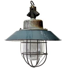 Kocser | Green Enamel Industrial Lamp (20x)