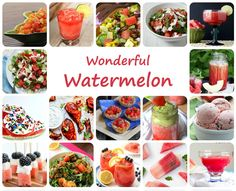 17 wonderful watermelon recipes