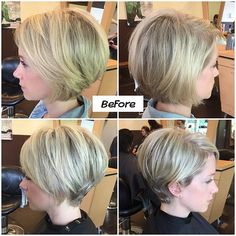 Short Hair With Layers, Short Hair Cuts For Women, Medium Hair Styles, Short Hair Styles, Pelo Pixie, Cute Hairstyles For Short Hair, Fringe Hairstyles, Headband Hairstyles, Great Hair