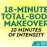 Eighteen minutes is all you need to get an intense, sweat-filled, full-body workout in! This at-home workout is the one that I use when I travel, when I go on vacation or for times when I just don't have an hour of time or an adequate gym to go to. The...