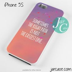 Right Path Quote Phone case for iPhone 4/4s/5/5c/5s/6/6 plus
