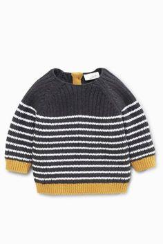 Buy Grey Stripe Jumper (0mths-2yrs) online today at Next: Sweden