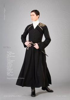 T style (Megrelian - Abkhazian Chokha | Samoseli Pirveli, Georgian National Costume)
