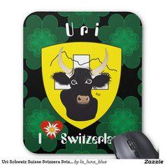 Uri Schweiz Suisse Svizzera Svizra Mousepad