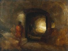 Figures in a Building Joseph Mallord William Turner (1775–1851) Tate