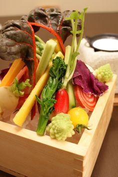 一炉一会 - 彩り野菜のバーニャカウダ