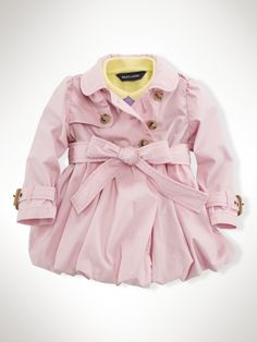 Ralph Lauren - Infant Bubble Trench Coat