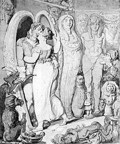 Rowlandson-modern-antiques-Egyptomania-1806 - Egyptomania - Wikipedia, the free encyclopedia