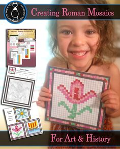 We have been studying Ancient Rome for our homeschool history, and decided to experiment a little with Roman Mosaics.      Our first expe...