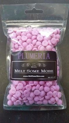 Plumeria Mini Soy Melts for tart warmers by MeltSomeMore on Etsy