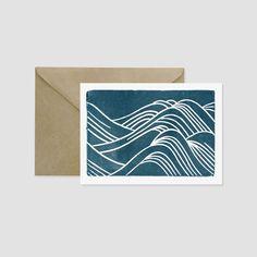 Japanese Waves Greeting Card                                                                                                                                                                                 More