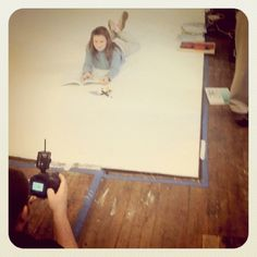 Behind the scenes of a Math-U-See photoshoot.