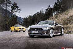 blogmotorzone: Mustang 2016 para Europa. La sexta generación del muscle car americano por excelencia el Mustang, en su versión 2016, ya está disponible en Europa... Para leer más visita: http://blogmotorzone.blogspot.com.es/2015/05/mustang-2016-para-europa.html