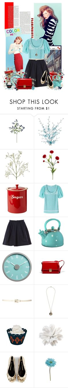"""""""Happy Belated Birthday!"""" by jesuisunlapin ❤ liked on Polyvore featuring Jason Wu, Color Me, Deep Blue, CO, Carven, Crate and Barrel, Zara, Therapy, And Mary and Juicy Couture"""