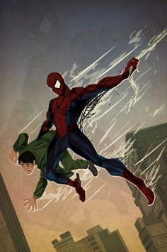 Spider-Man First Appearance Homage - Justin Currie