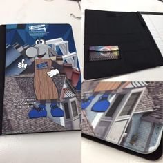 Great for the office, customized padfolios add a personal touch to the workplace. Upload your company logo or artwork at https://www.spittingimage.us/upload-artwork.html!