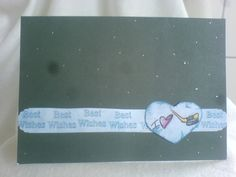 Handmade Stampers Card Ice-Hockey